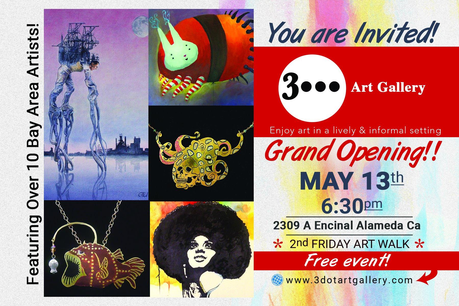 3 Dot Grand Opening